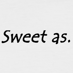 Sweet as - Men's Baseball T-Shirt