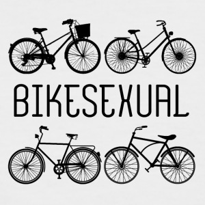 Vélo: Bikesexual - T-shirt baseball manches courtes Homme