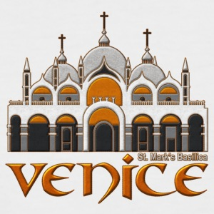 Venice basilica - Men's Baseball T-Shirt