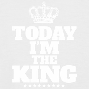 today i'm the king - Men's Baseball T-Shirt