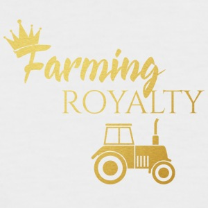 Farmer / Farmer / Bauer: Farming Royalty - Men's Baseball T-Shirt