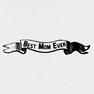 best mom banner - Männer Baseball-T-Shirt