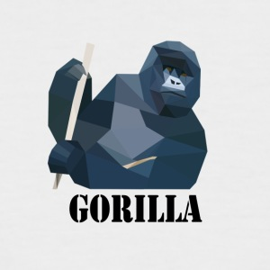 gorilla - Men's Baseball T-Shirt