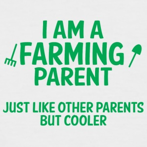 Farmer / Farmer / Farmer: I am a parent Farming - Men's Baseball T-Shirt