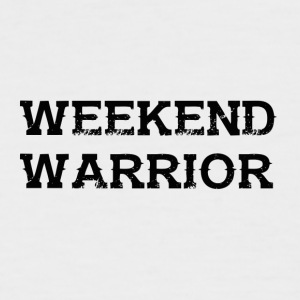 Shirt Weekend Warrior Weekend Party - Men's Baseball T-Shirt