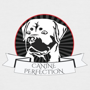 Dog / Rottweiler: Canine Perfection - Men's Baseball T-Shirt