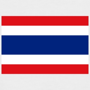 National Flag Of Thailand - Kortermet baseball skjorte for menn