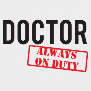 Doctor / Doctor - Always On Duty - Mannen baseballshirt korte mouw