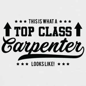 Zimmermann: This is what a top class carpenter - Men's Baseball T-Shirt
