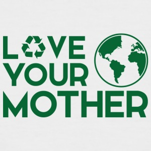 Earth Day / Dag: Love Your Mother - Mannen baseballshirt korte mouw