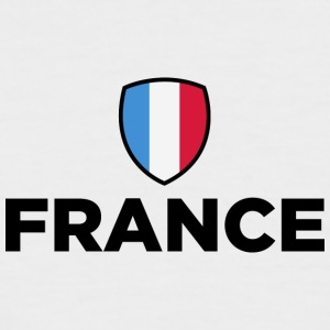 National Flag Of France - Men's Baseball T-Shirt