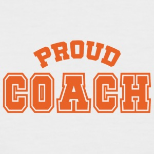 Coach / Trainer: Proud Coach - Männer Baseball-T-Shirt