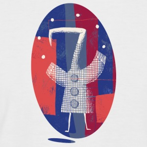 Bird Juggler 001 - Men's Baseball T-Shirt
