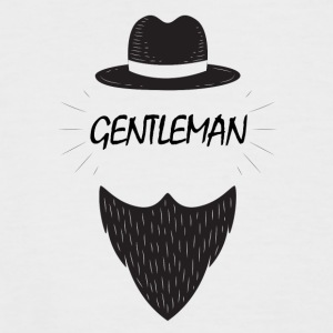 gentleman - Kortermet baseball skjorte for menn