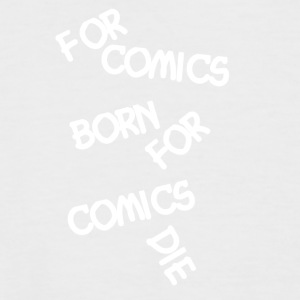 Comic Fan For Tegneserier Born - Kortermet baseball skjorte for menn