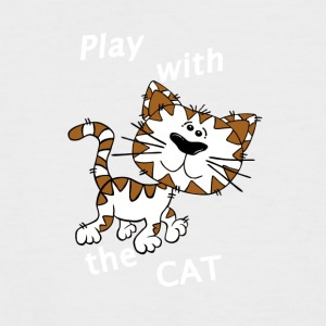 Play_Cat_Wei - 2 - T-shirt baseball manches courtes Homme