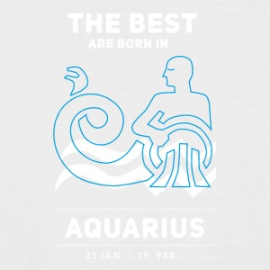 Aquarius aquarius horoscope january, astrology give - Men's Baseball T-Shirt