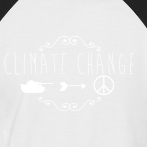 climate Change 2017 - Men's Baseball T-Shirt
