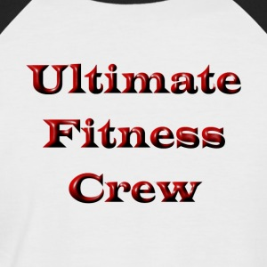 Ultimate Fitness Crew - T-shirt baseball manches courtes Homme