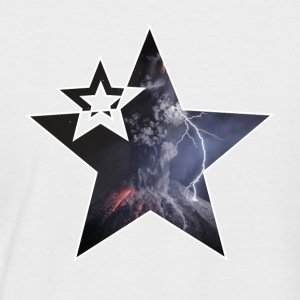 "Star ""Vulcano"" - Kortermet baseball skjorte for menn"
