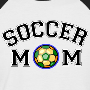 Soccer Mom - Men's Baseball T-Shirt