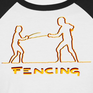 FENCING - Kortermet baseball skjorte for menn