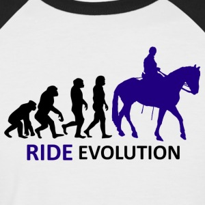 ++ ++ Ride Evolution - Men's Baseball T-Shirt