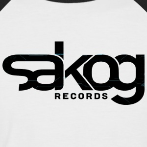 Sakog Records - Männer Baseball-T-Shirt