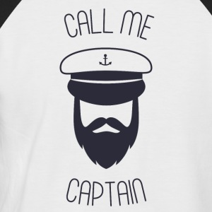 Call me captain - Men's Baseball T-Shirt