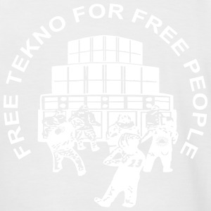 Free tekno for free people - Men's Baseball T-Shirt
