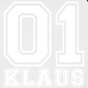 Klaus - Name - Männer Baseball-T-Shirt