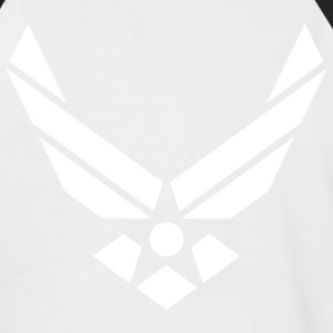 US Air Force - Männer Baseball-T-Shirt