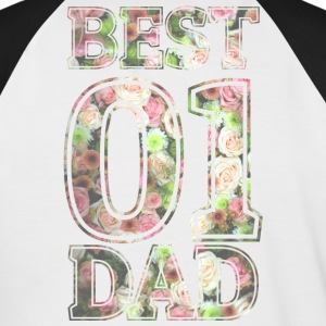 Best Dad - Men's Baseball T-Shirt