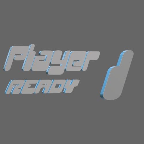 player 1 boy - Männer Baseball-T-Shirt