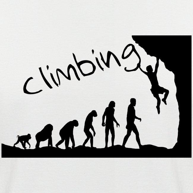 Kletter-Evolution schwarz