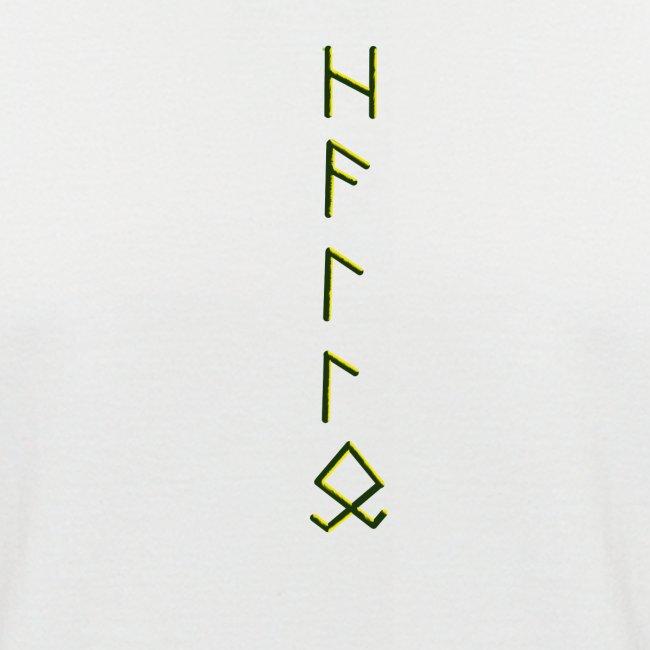 Hallo in Runenschrift