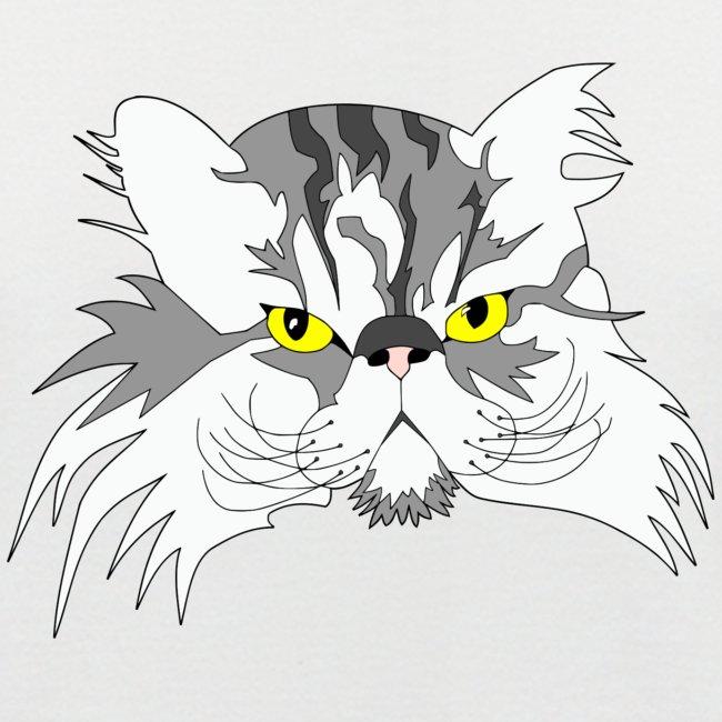 Katze - Chuck Norris - Theophil-Nerd