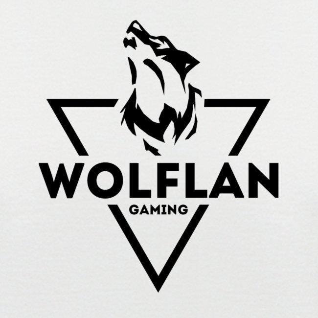 WolfLAN Gaming Logo Black