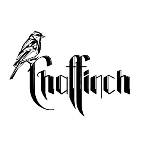 WEB Chaffinch logo musta - Miesten lyhythihainen baseballpaita