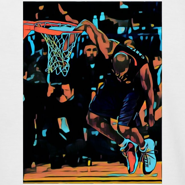 VC hand in the basket dunk art work