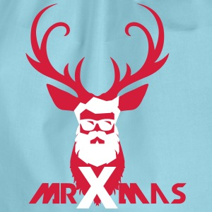 MrXmas_Shirt_red - Sportstaske
