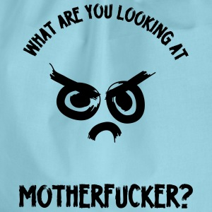 WhatAreYouLookingAt - Drawstring Bag