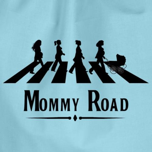 Mommy Road- Negra - Mochila saco