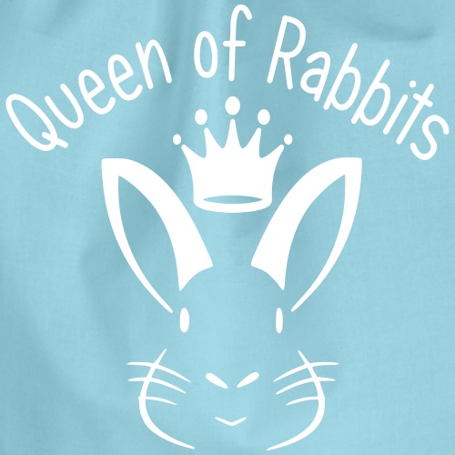 Queen of Rabbits - Turnbeutel