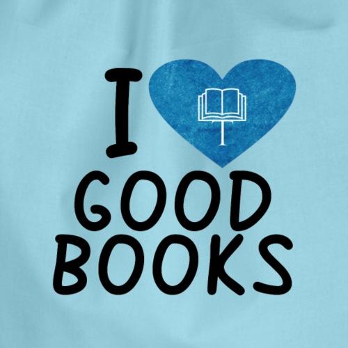 I love good books - Turnbeutel