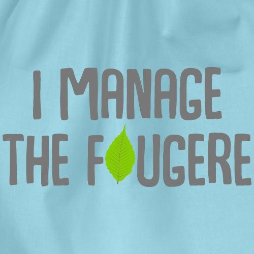 I Manage The Fougere - Sac de sport léger