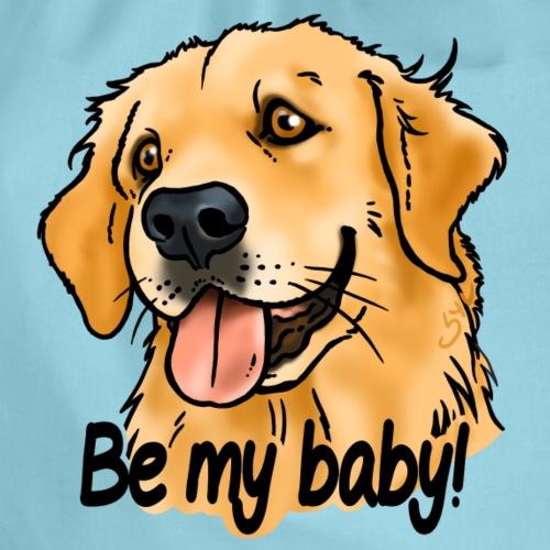 Golden be my baby! (texte noir) - Sac de sport léger
