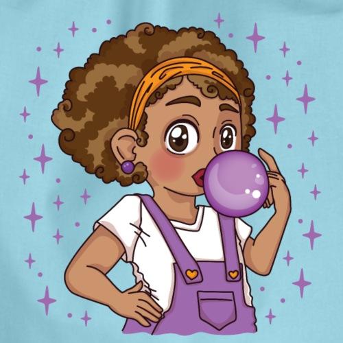 Mariama - Bubble Gum Girl - Turnbeutel