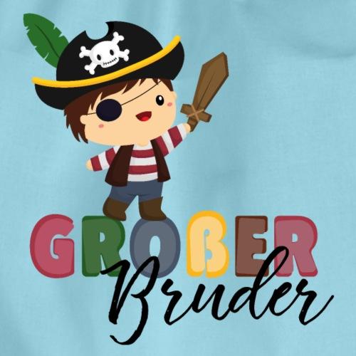 Großer Bruder Piraten - Turnbeutel