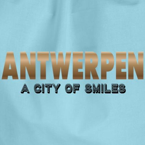 Antwerp a city of smiles - Gymtas